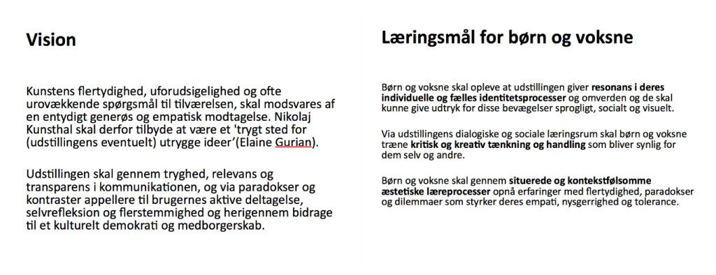 Slide fra Hilde Østergaards præsentation.