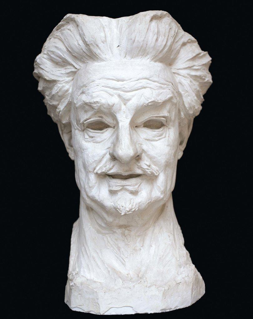 Georg Brandes af Rudolph Tegner (1922). Ejet af Ruldolph Tegner Museum & Statuepark, Holte, Danmark. Photograph: Hugo Hopping for SixtyEight Art Institute, 2016.