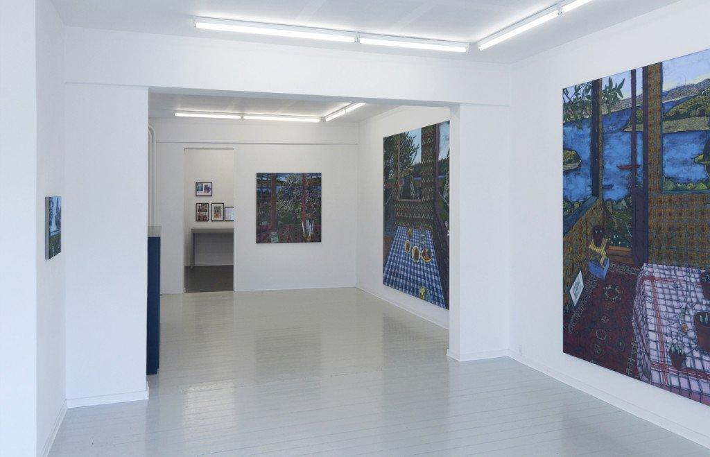 Udstillingsview: Jesper Christiansen:En forårsudstilling. Foto: Galerie MøllerWitt.