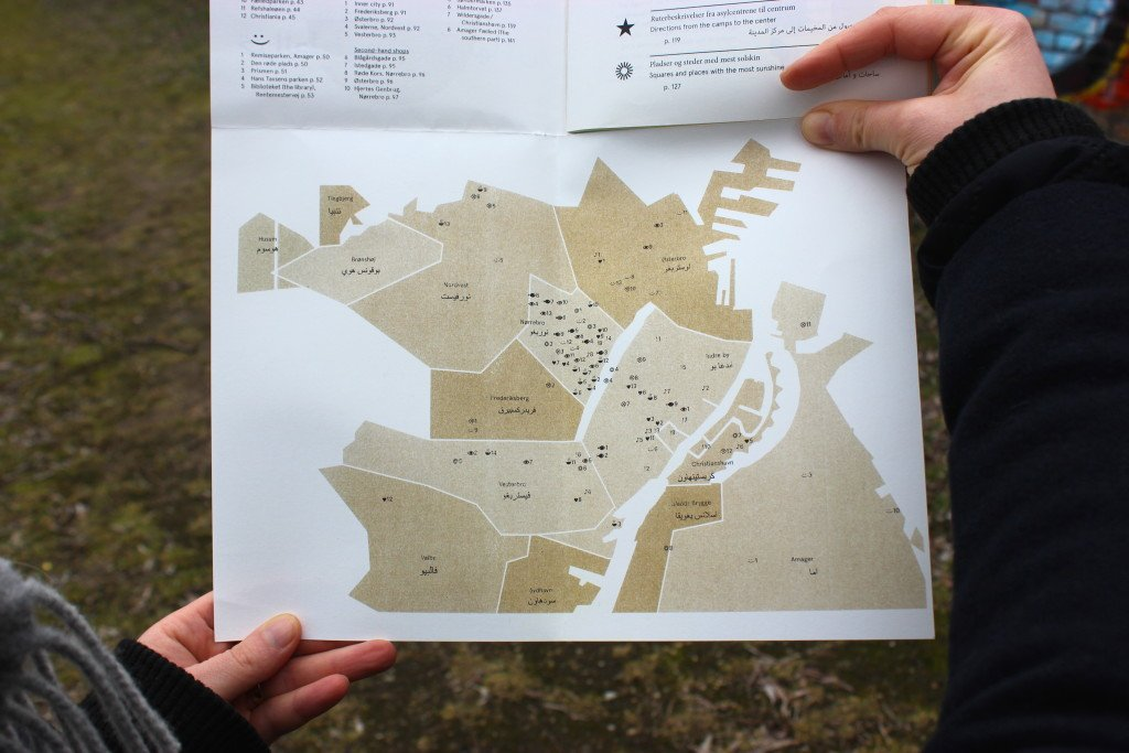 Maps for Copenhagen, 2015. Guidebog. Foto: Maj Horn