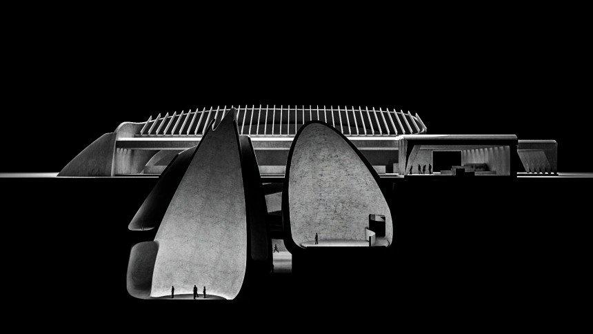 Utzons fantastiske fatamorgana-museum var uegnet til Jorn