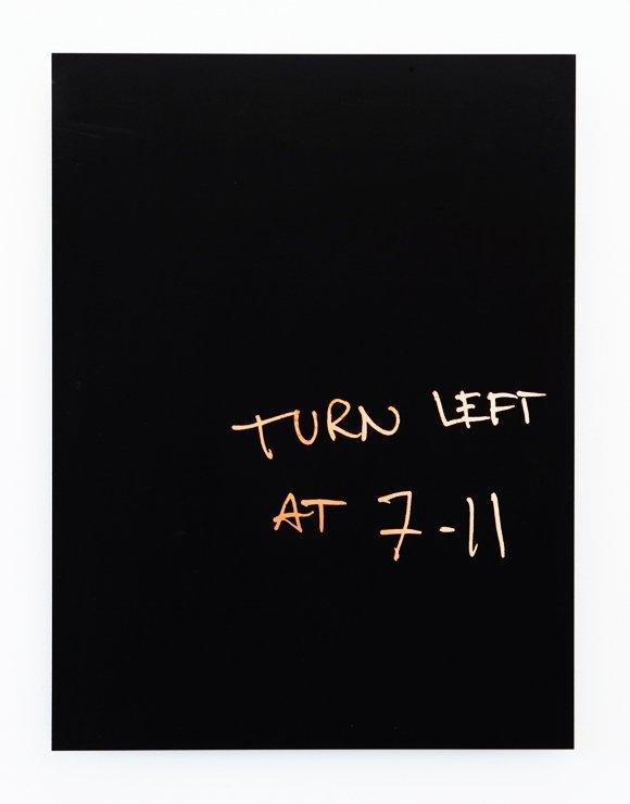 Oskar Jakobsen: Directions (Tokyo), 2016. Etched copper clad FR-4 circuit board. Foto: Alexander Kristoff