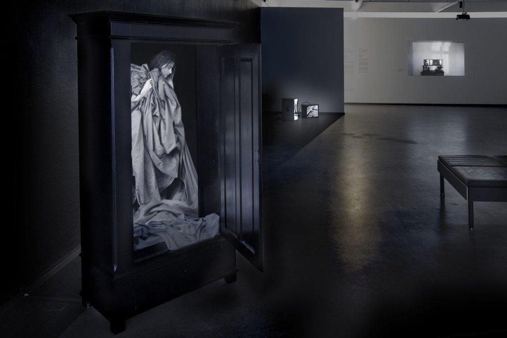 Udstillingsview: Hverdagsbilleder, 2016, Randers Kunstmuseum. Foto: Ole Bjørn Petersen