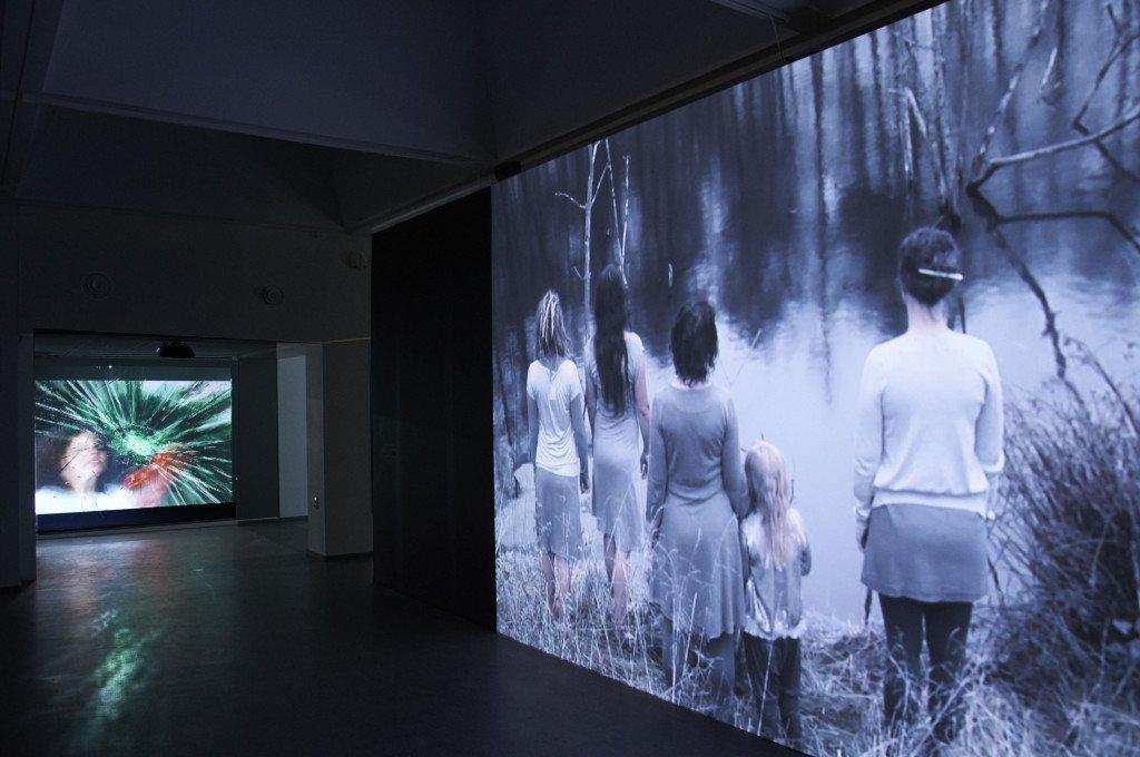 Udstillingsview: Hverdagsbilleder, 2016, Randers Kunstmuseum. Foto: Randers Kunstmuseum