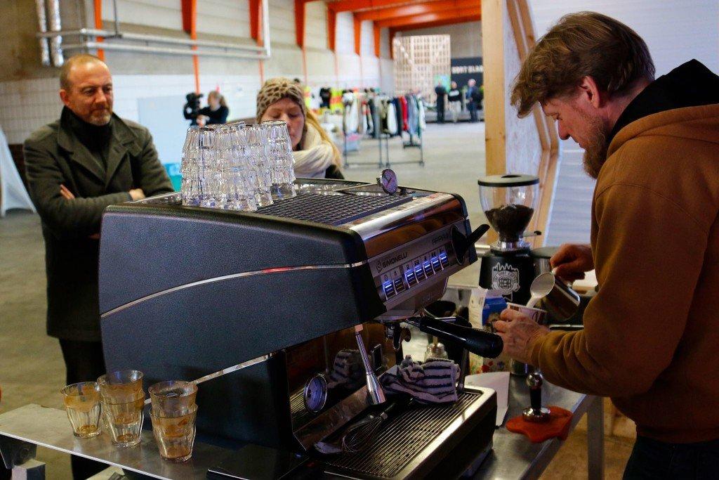 Kaffebrygning. Foto: Kulturdivisionen Slagteriet Holstebro