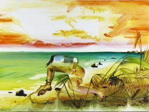 Grand Danois – Maleri i stort format