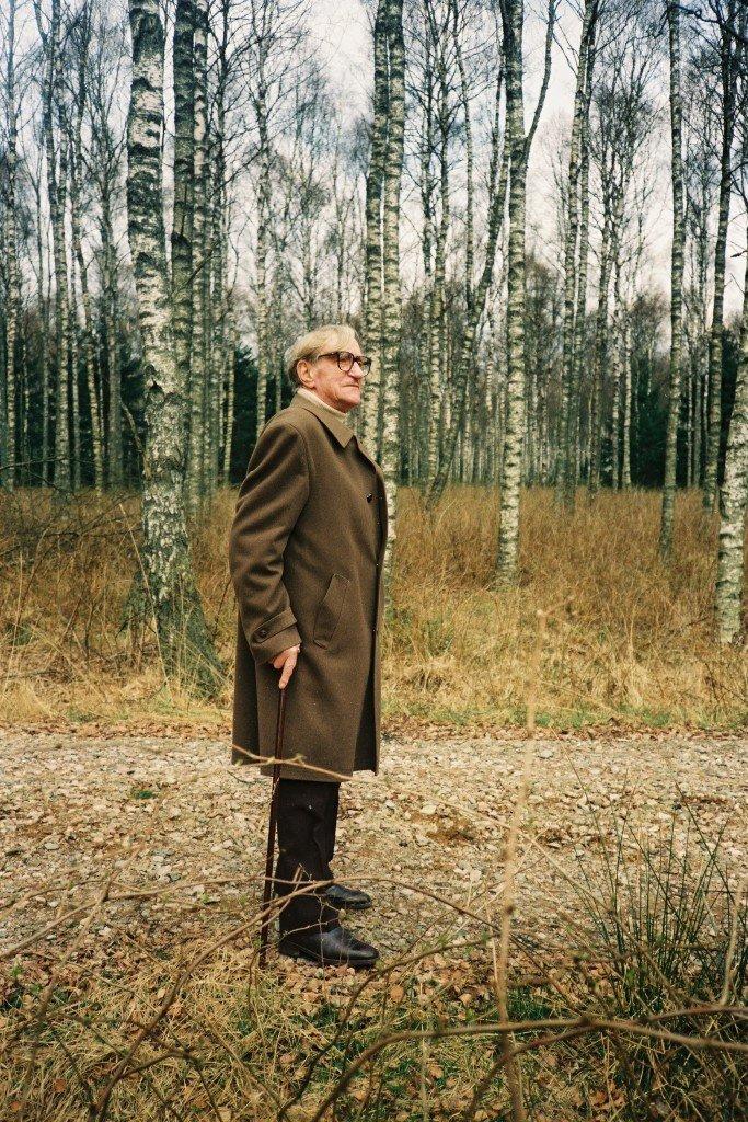 Wilhelm Freddie bliver også portrætteret i en film af Jacob Jørgensen. Foto: Jacob Jørgensen