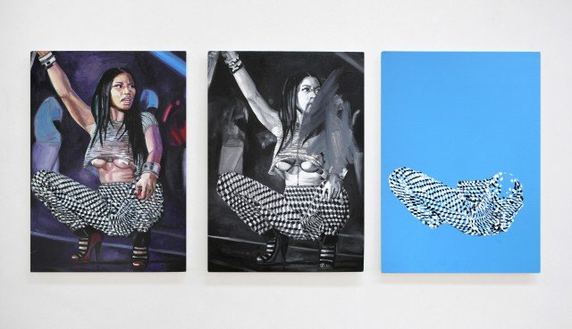 The Minaj Pants Triptych, 2015. Foto: Ditte Ejlerskov