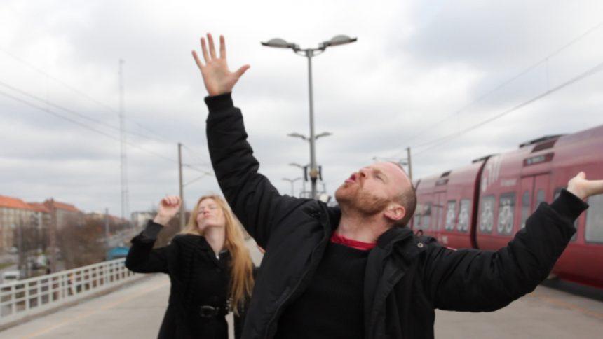 Turister på Sydhavn Station