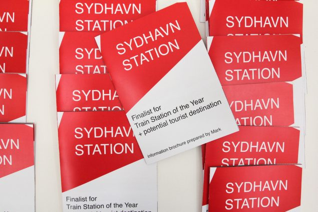 John Herschend: Station Award (detalje), 2016. Foto: John Herscend
