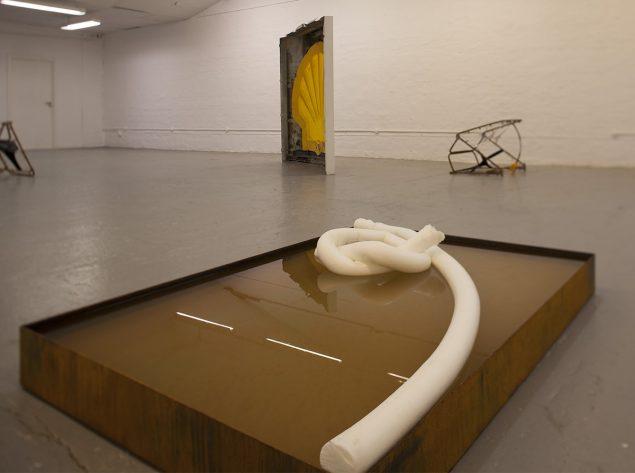 Installationsview: Bikini Atoll, Ringsted Galleriet. Foto: Morten K. Jacobsen