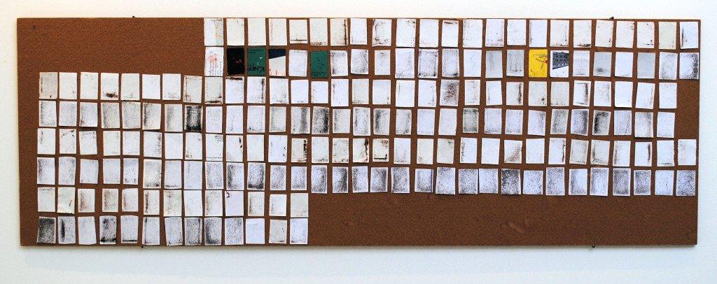 Lyngsø-Light: I count my steps with a matchbox, installation, KP16, Aarhus Kunsthal. Foto: Lyngsø-Light