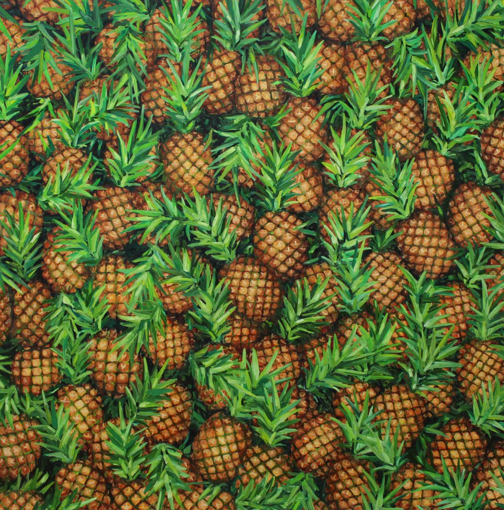 The Pineapple Painting, 2013. Foto: Ditte Ejlerskov