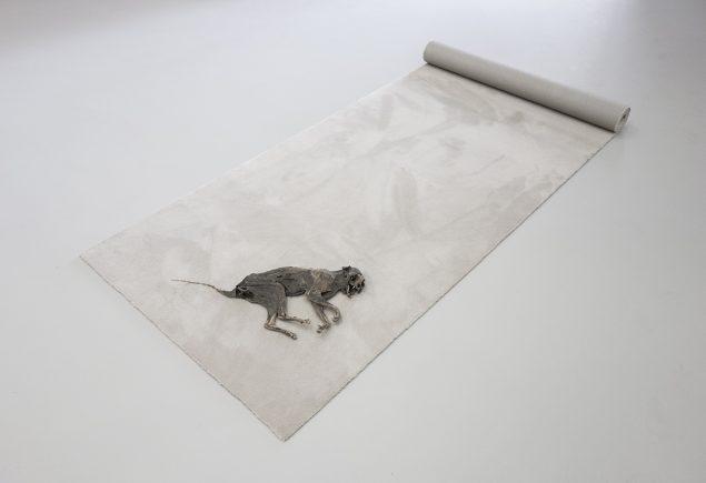 Jan S. Hansen: Pivot (naming a dead cat), 2016. Pressefoto.