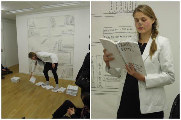Menneskeret, hvide bjørne og spørgsmålet om, hvordan man egentlig staver til Dostoyevskij, 2012. Foto: Lise Uhrskov