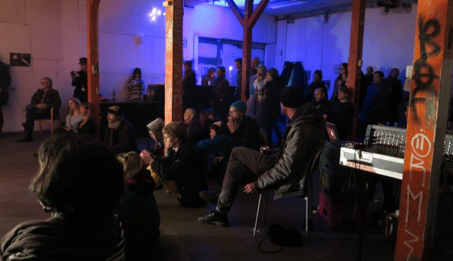 Publikum mødte talstærkt op til Lacephase. Foto: Jenny Selldén