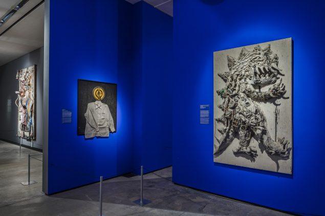 Installationsfoto, Niki de Saint Phalle, Arken. Foto: Anders Sune Berg