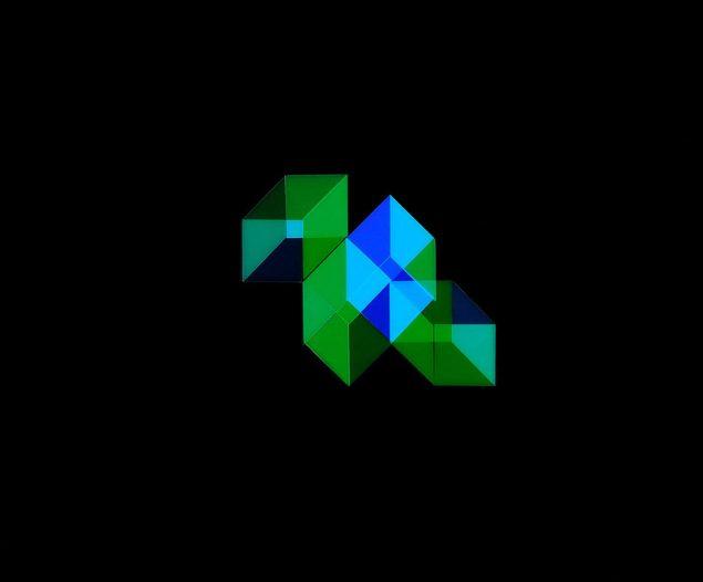 Emil Salto: Unfolded Hypercubes #1, 2016. Pressefoto