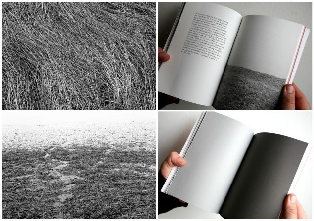 Billeder og opslag fra bogenIkke Lys Ikke Mørke. Foto: Jakob Hunosøe