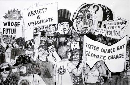 Kunst kan være hvad som helst – og det gør den politisk