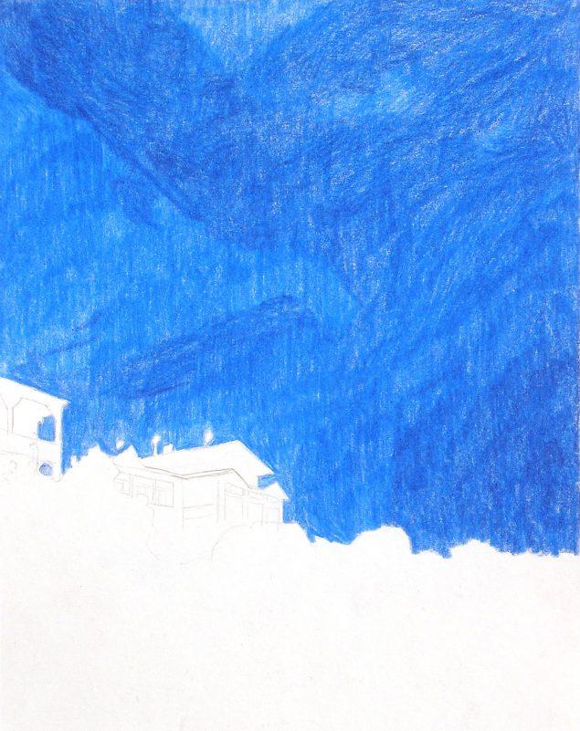 Morten Schelde: Himmel über Rügen, 2005. Courtesy Hans Al Gallery