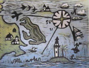 Corner og Rylen: Grafik langs Jyllands kyst