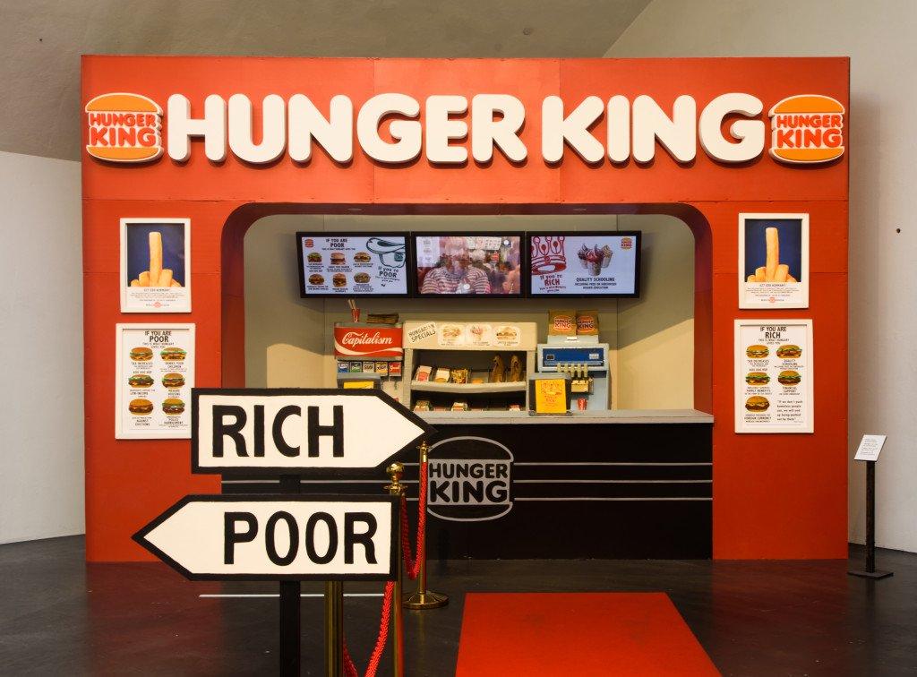 Jani Leinonen: Hunger King, 2014. Foto: Vilhelm Sjöström, © Jani Leinonen & Zetterberg Gallery