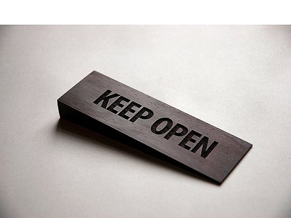 Henrik Capetillo: Keep Open (Wedge), 2010. Foto: Joe Dilworth