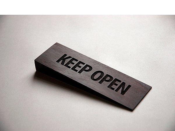 Henrik Capetillo: Keep Open (Wedge), 2010. Foto: Joe Dilworth