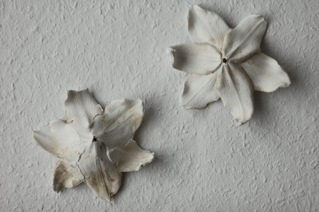 Udsnit af Karin Lorentzens stukværk. Foto: Joe Dilworth
