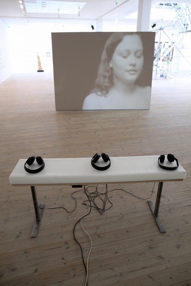 Værk af Lil Wachmann fra Det Jyske Kunstakademis afgangsudstilling 2016. Foto: Jens Møller