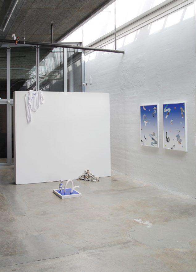 Installationsview fra udstillingen Uden Titel, Kunsthal Nord, 2015. Foto: Sif Itona Westerberg