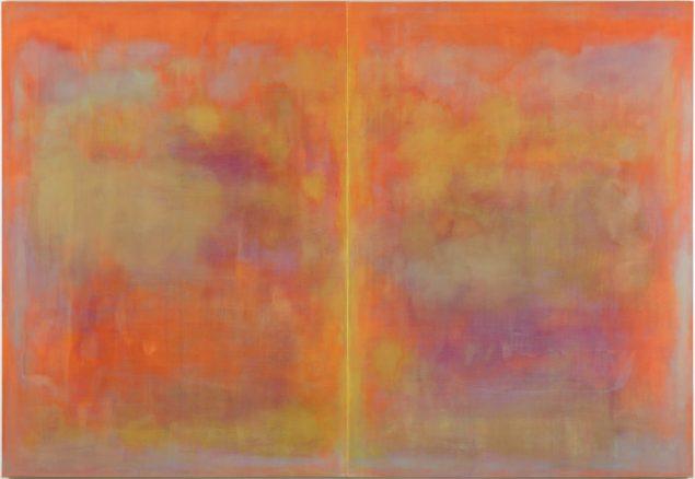 Birk Bjørlo:I am Lost to the World, 2016, 220 x 320 cm, oile på lærred.