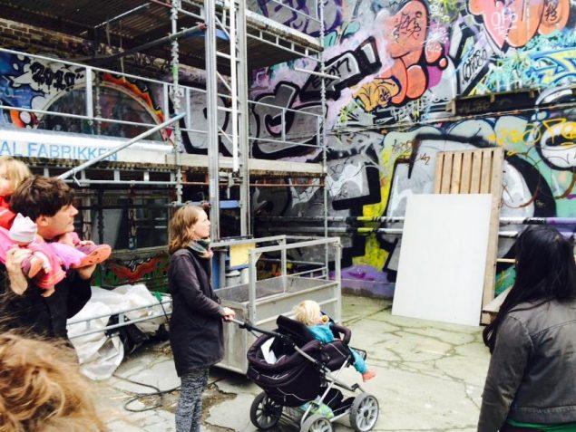 Foreningen Urbane Vildspor byder i år på en guidet tur for børn og barnlige sjæle. Pressefoto.