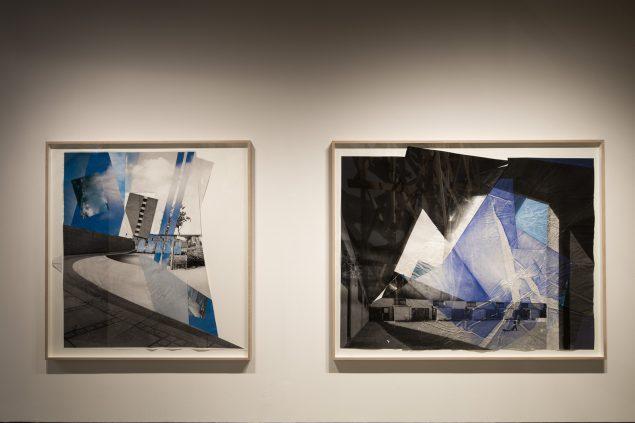 Installationsview fra udstillingen Vi byggede et hus, 2016, Den Sorte Diamant, Det Nationale Fotomuseum. Foto: Torben Eskerod