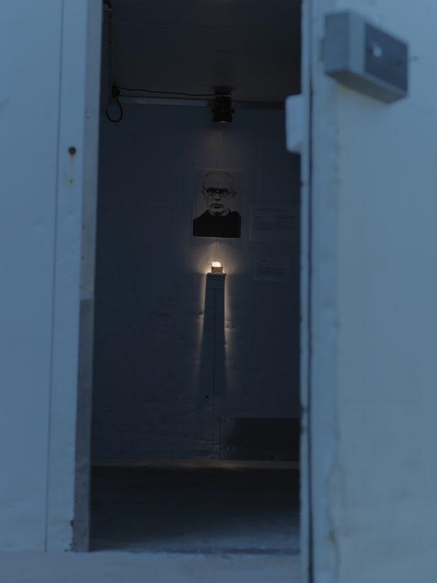 Installationsview fra Martyrmuseum, København. Foto: Boris Grimbäck