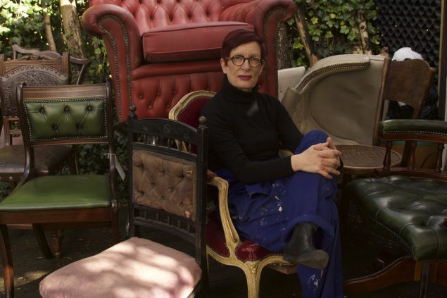 Nina Saunders. Portræt 2016. Foto: Red Saunders