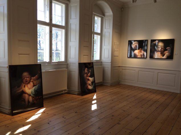 Suste Bonnén: Det første sekund, 2013. Installationsview. Foto: Rønnebæksholm
