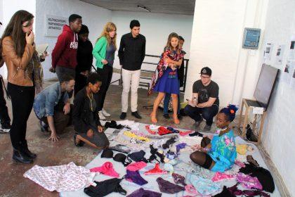 Ultrasamtidig her-og-nu-kunst i Sydafrika