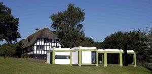 Arne Jacobsens Kubeflex sommerhus