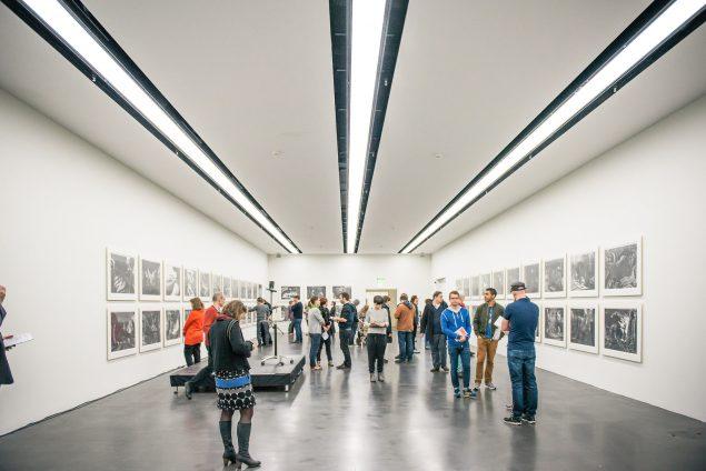 Lorenzo Mattotti med udstillingen Oltremai på Kunstmuseum Luzern. © monicatarocco.com