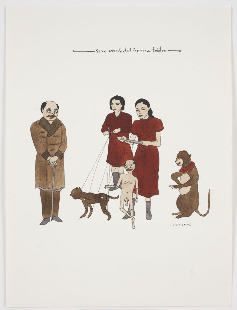 Marcel Dzarma: Uden titel, 2000