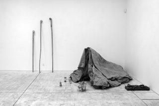 Emil Westman Hertz: Telt, foto: Simon Lautrop/Bornholms Kunstmuseum