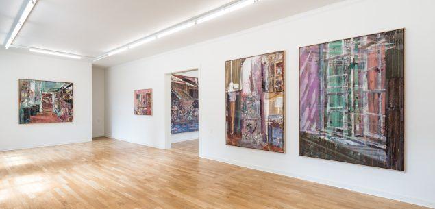 Installationsview fra udstillingen Svundne Tider, Viborg Kunsthal, 2016. Foto: Kurt Nielsen
