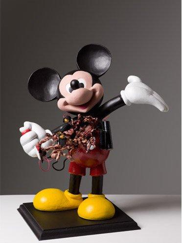 Christian LemmerSM (Suicide Mouse), 2006. Courtesy: Christian Lemmerz