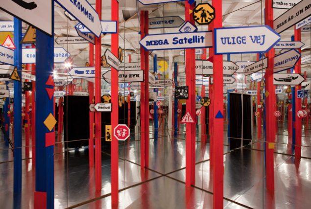 Fra udstillingen Hullet i rummet af Trine Boesen på Brandts. Pressefoto.