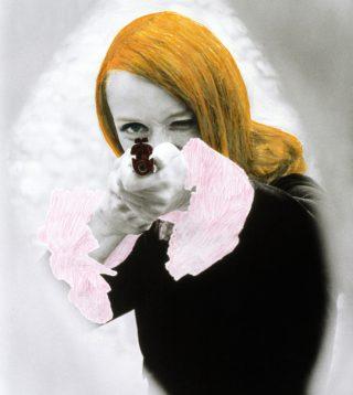 Niki de Saint Phalle: DADDY film still af Peter Whitehead med farveretouchering, 1972 , foto: Schamoni Film