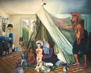 Shadi Zaqzouq: Inside me a tent, pressefoto
