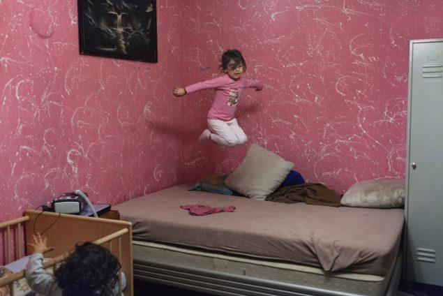 Stefanie Zofia Schulz: Flying Angela fra serien Duldung. Foto: Stefanie Zofia Schulz