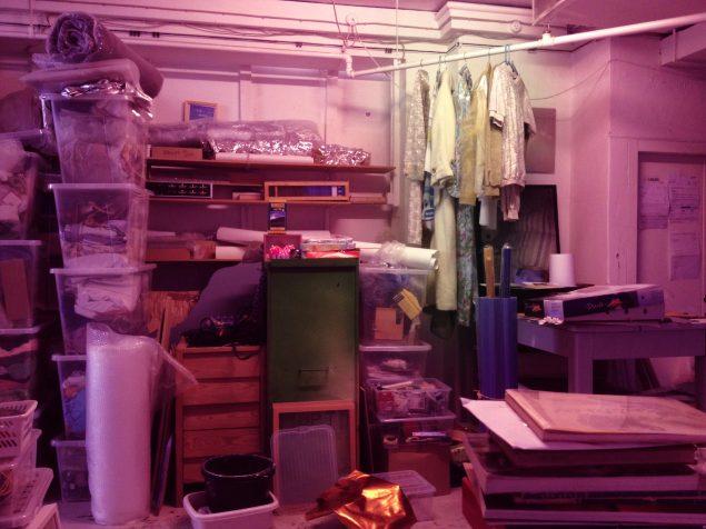 Hannah Heilmann's Wardrobe, 2014-. Løbende projekt, personlig garderobe til salg. Foto: Hannah Heilmann